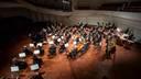 Foto: Ar vērienīgu tiešraides koncertu Liepājas Simfoniskais orķestris noslēdz savu 140.sezonu