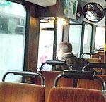 Huligāni apdraud autobusu pasažierus