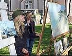 """Atklās jūras glezniecības plenēra """"Liepājas marīna'07"""" gleznu izstādi un katalogu"""