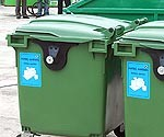 Rosina šķirot atkritumus