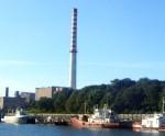 Uzsāk Liepājas termoelektrocentrāles skursteņa daļēju demontāžu