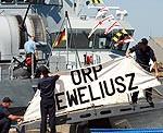 Kara kuģu parāde Liepājas ostā