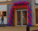 "Atvērts restorāns ""Hesburger"""