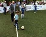 Liepājā tagad arī mazs futbola laukums