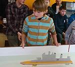 """Sacensībās """"Liepājas vilnis 2013"""" startē 45 kuģu modelisti"""