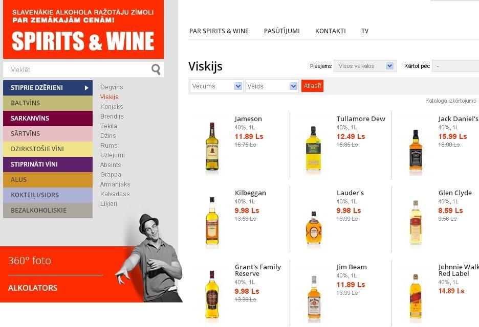 """Spīķerī būs veikals """"Spirit & Wine"""""""