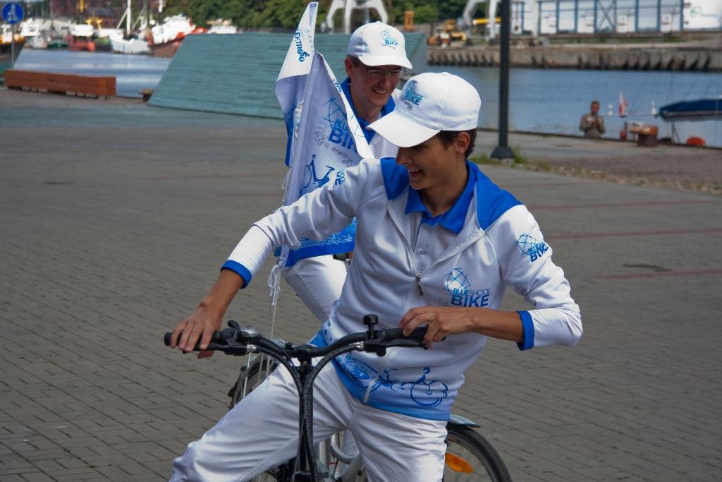 "Elektrovelosipēds ""Blue Shock Bike"" atzīmē pirmo jubileju"