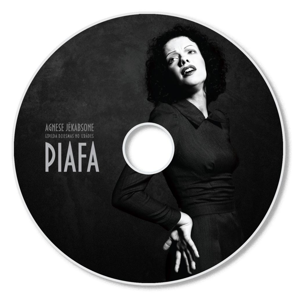 """Izdots disks ar mūziku no izrādes """"Piafa"""""""