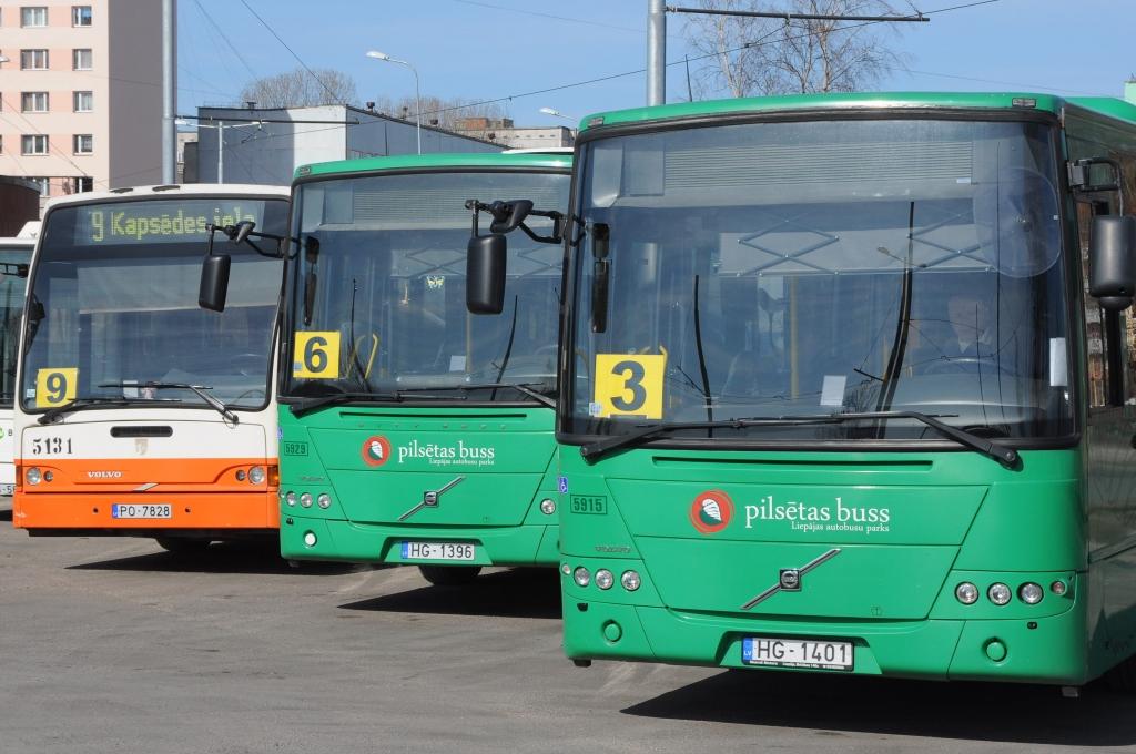 """""""Liepājas sabiedriskais transports"""" aicina pasažierus izmantot maršrutu plānotāju"""