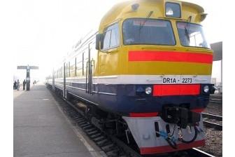 Izmaiņas pasažieru vilciena kustību sarakstā