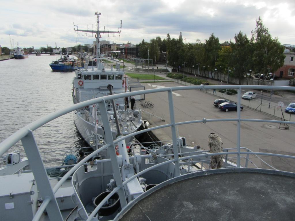 Notiks Jūras spēku flotiles komandiera maiņas ceremonija