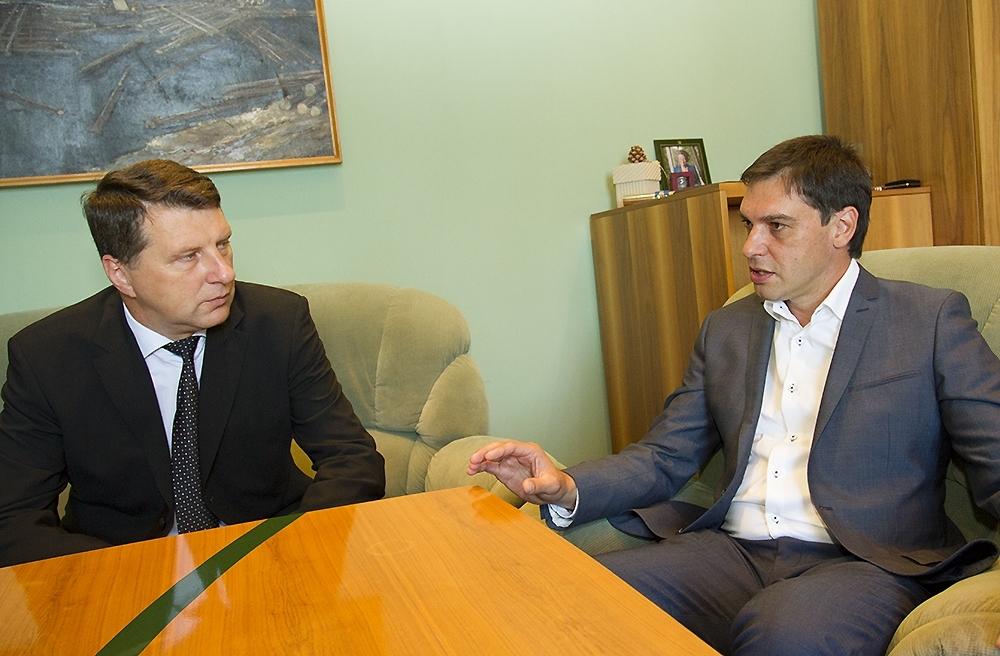 Aizsardzības ministrs viesojas Liepājā