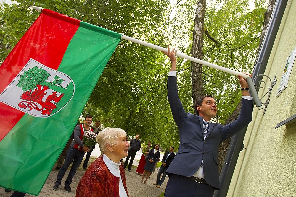 Papildināts – Paceļot Liepājas karogu, sumina energoefektīvāko ēku Latvijā