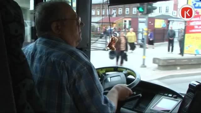 Sabiedriskajā transportā biļetes pie vadītājiem drukās no kases aparāta