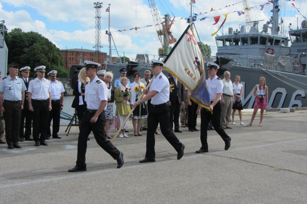 Juris Roze – jaunais Jūras spēku flotiles komandieris