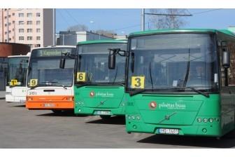 Autobusu konkursā vairāki pretendenti