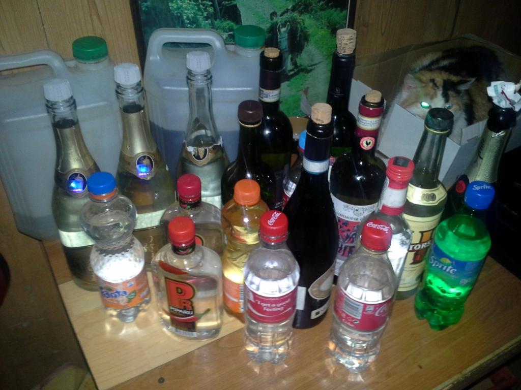 Pieķer nelegālā alkohola tirgoņus