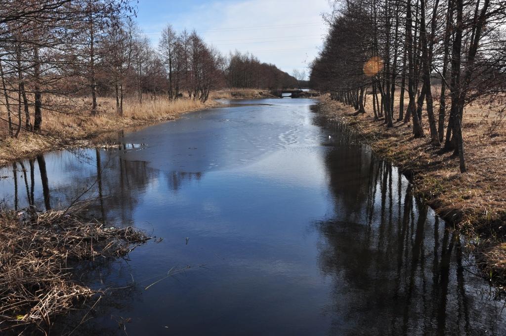 Vīrietis sajauc ceļus un iebrien upē