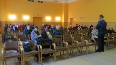 Iedzīvotājus aicina uz sapulci