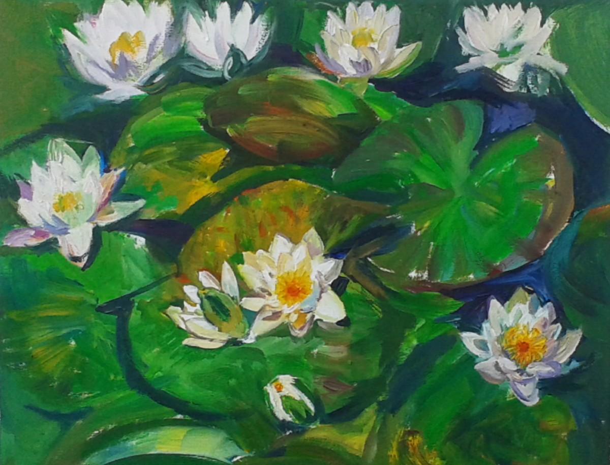 """Radošajā telpā """"Ideju bode"""" atklās Agneses Blumfeldes gleznu izstādi"""
