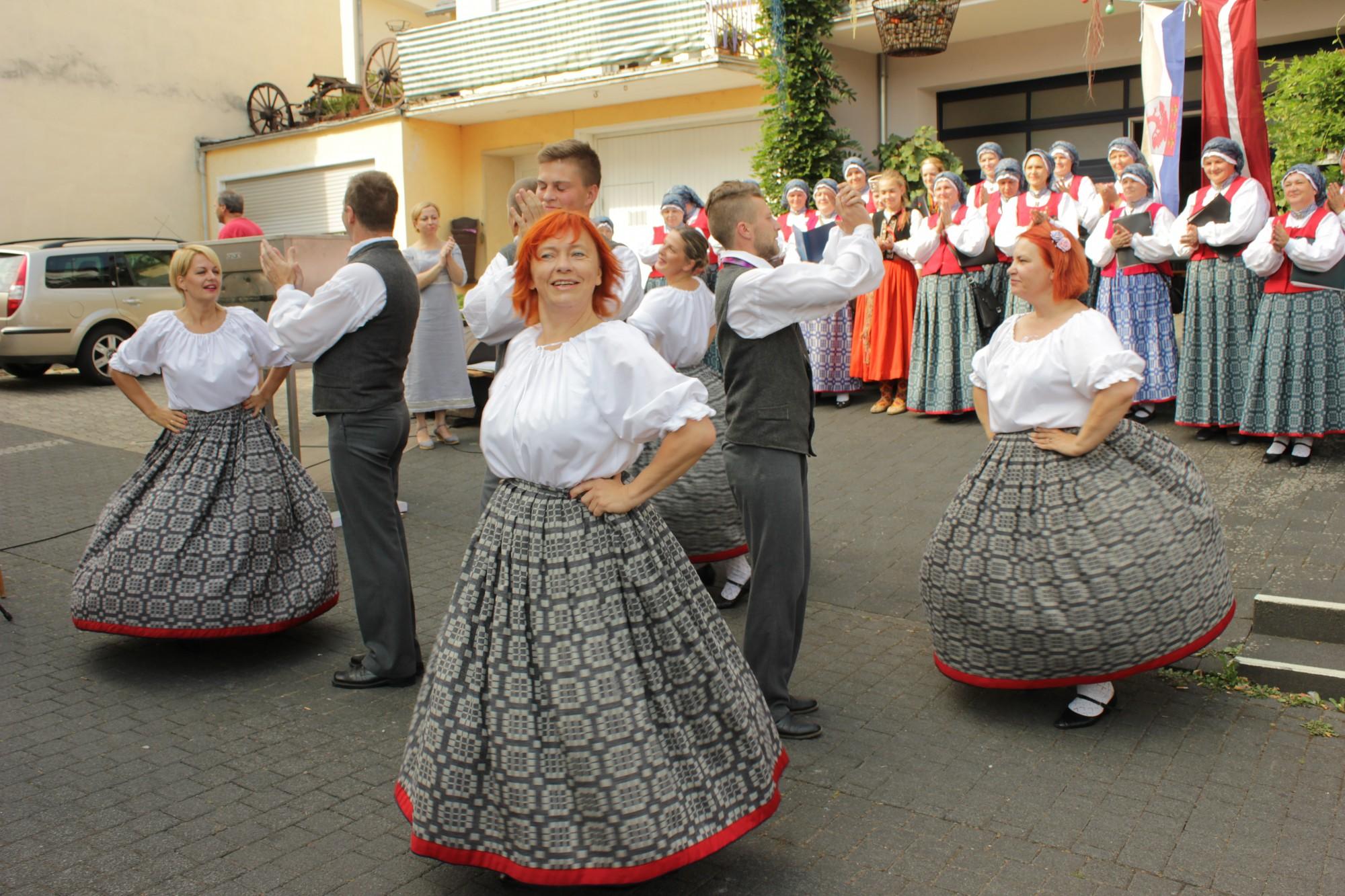 Pāvilostnieki koncertē Vācijā
