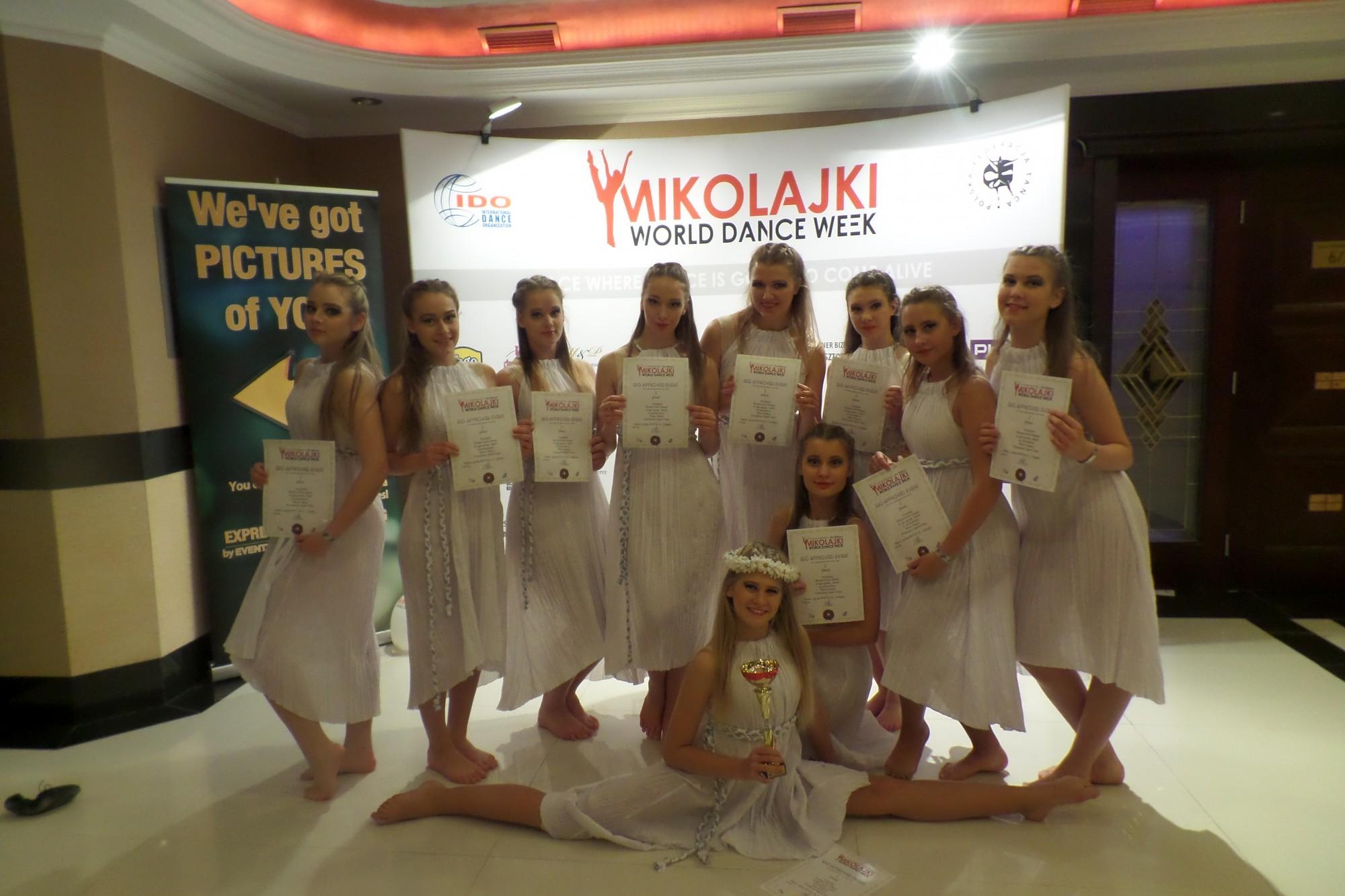 Seši pasaules kausi Liepājas Bērnu un jaunatnes centra mūsdienu deju dejotājiem