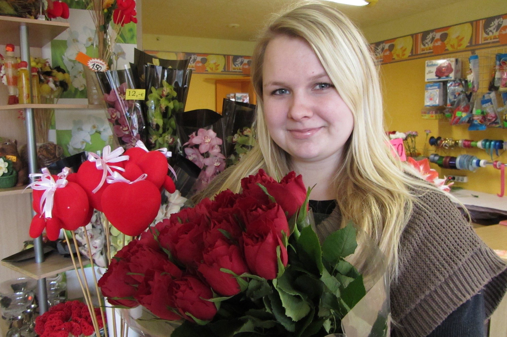 Lelde Maškova: Sarkanā – mīlestības krāsa