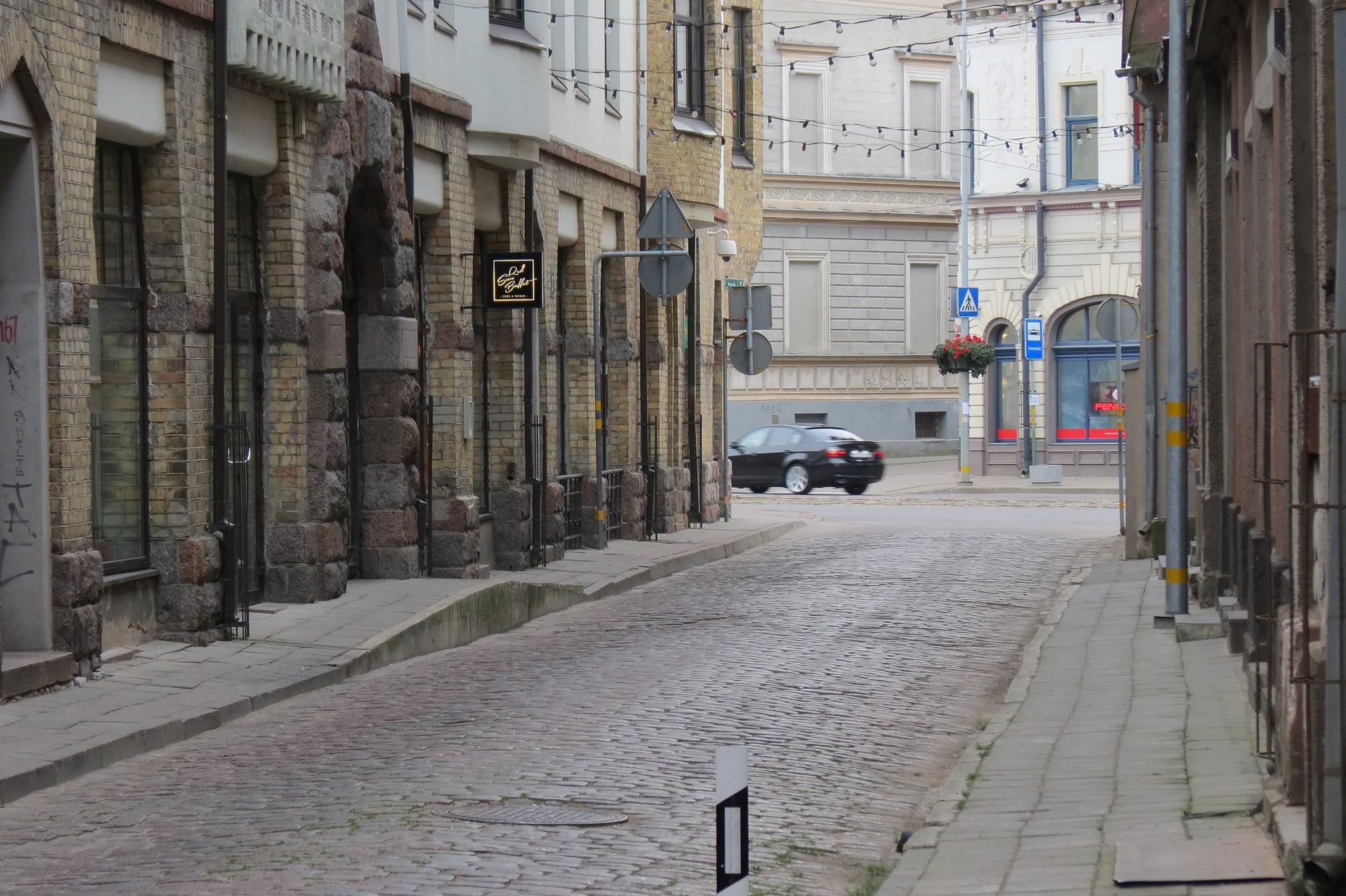 Pasta ielas posmu pārvērtīs par gājēju ielu