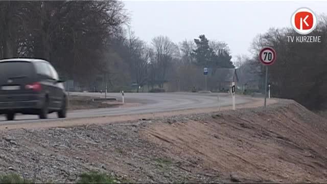 Ceļa Liepāja-Lietuvas robeža posma rekonstrukciju plāno pabeigt augustā