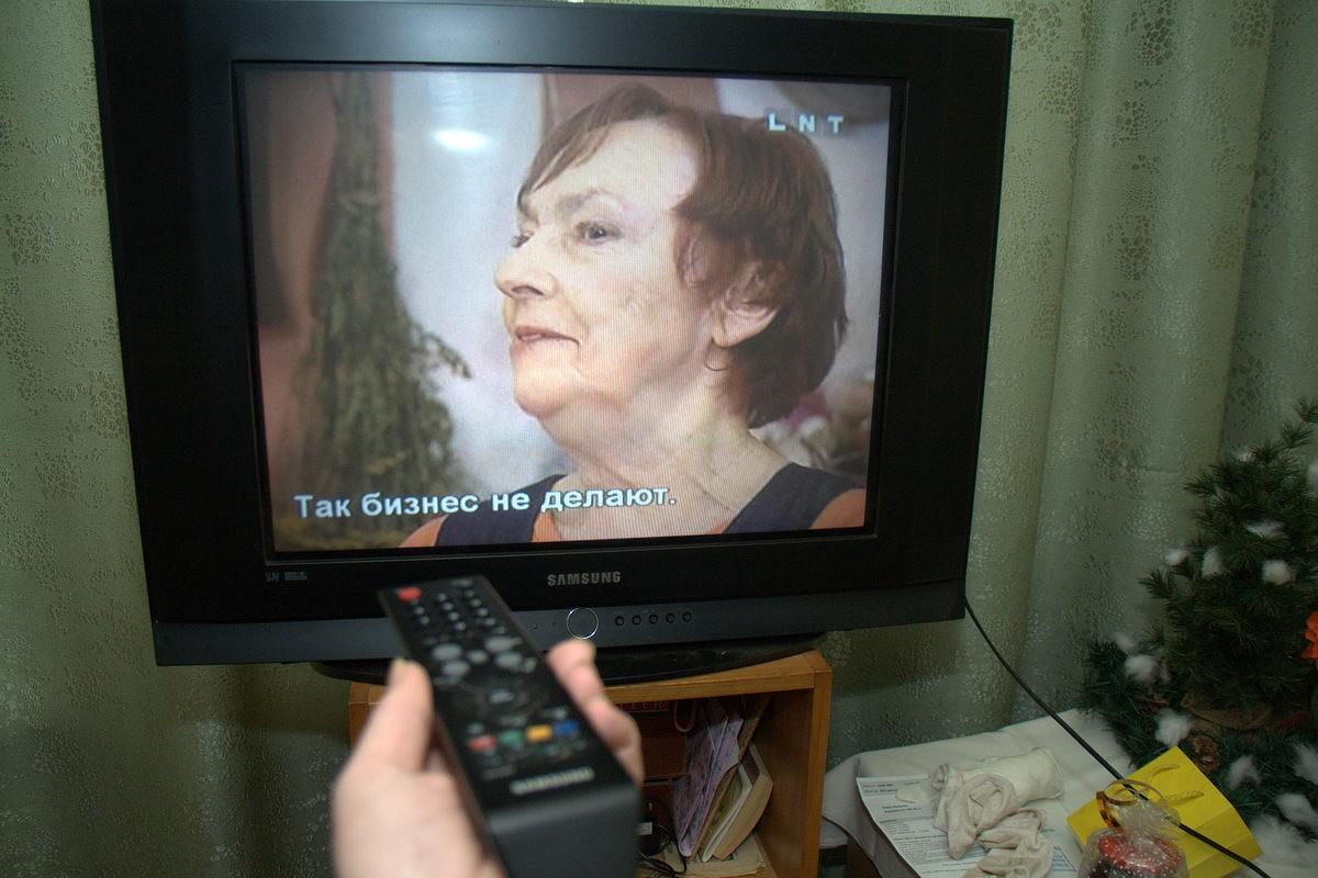 Propaganda skar arī TV kanālus