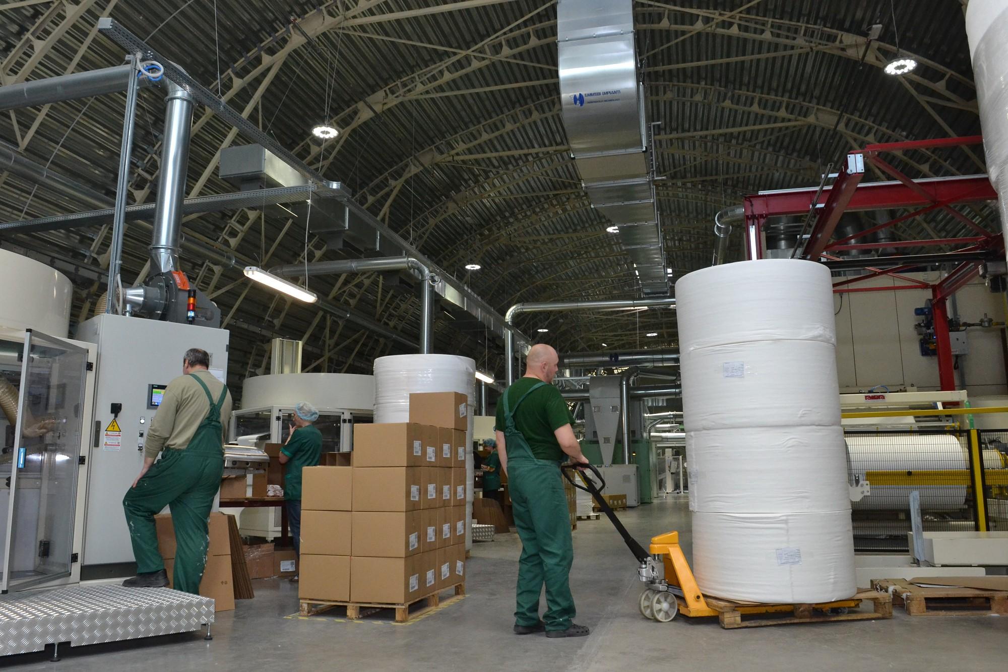 """Uzņēmuma """"iCotton"""" ražotnē investēti vairāk nekā 8 miljoni eiro"""