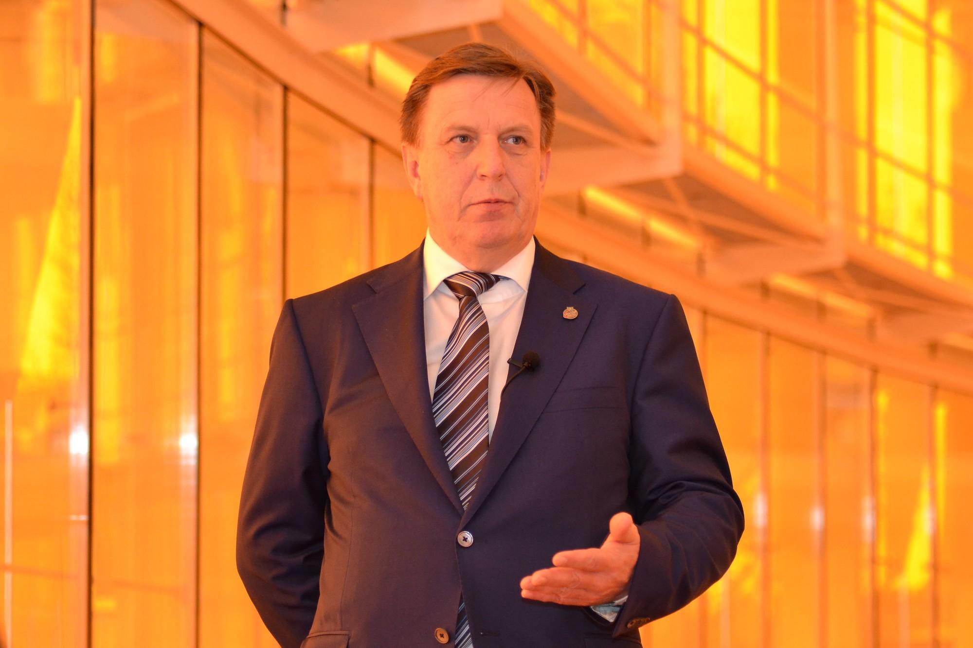 """Kučinskis: Kādam būtu jāuzņemas atbildība par investora izvēli """"Liepājas metalurgam"""""""