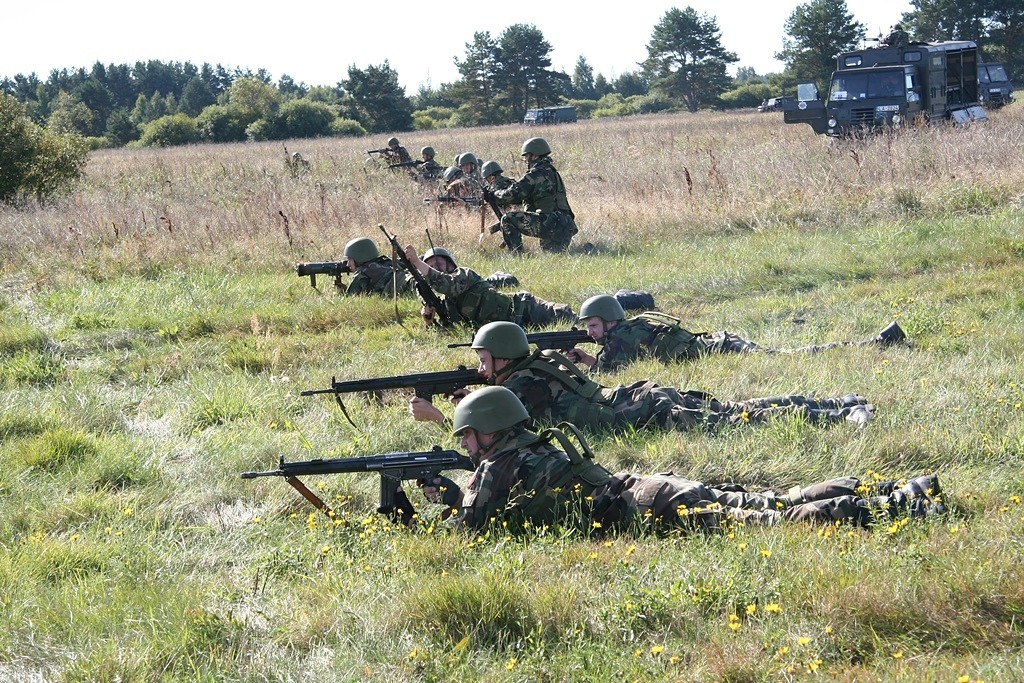 Notiks militārās mācības