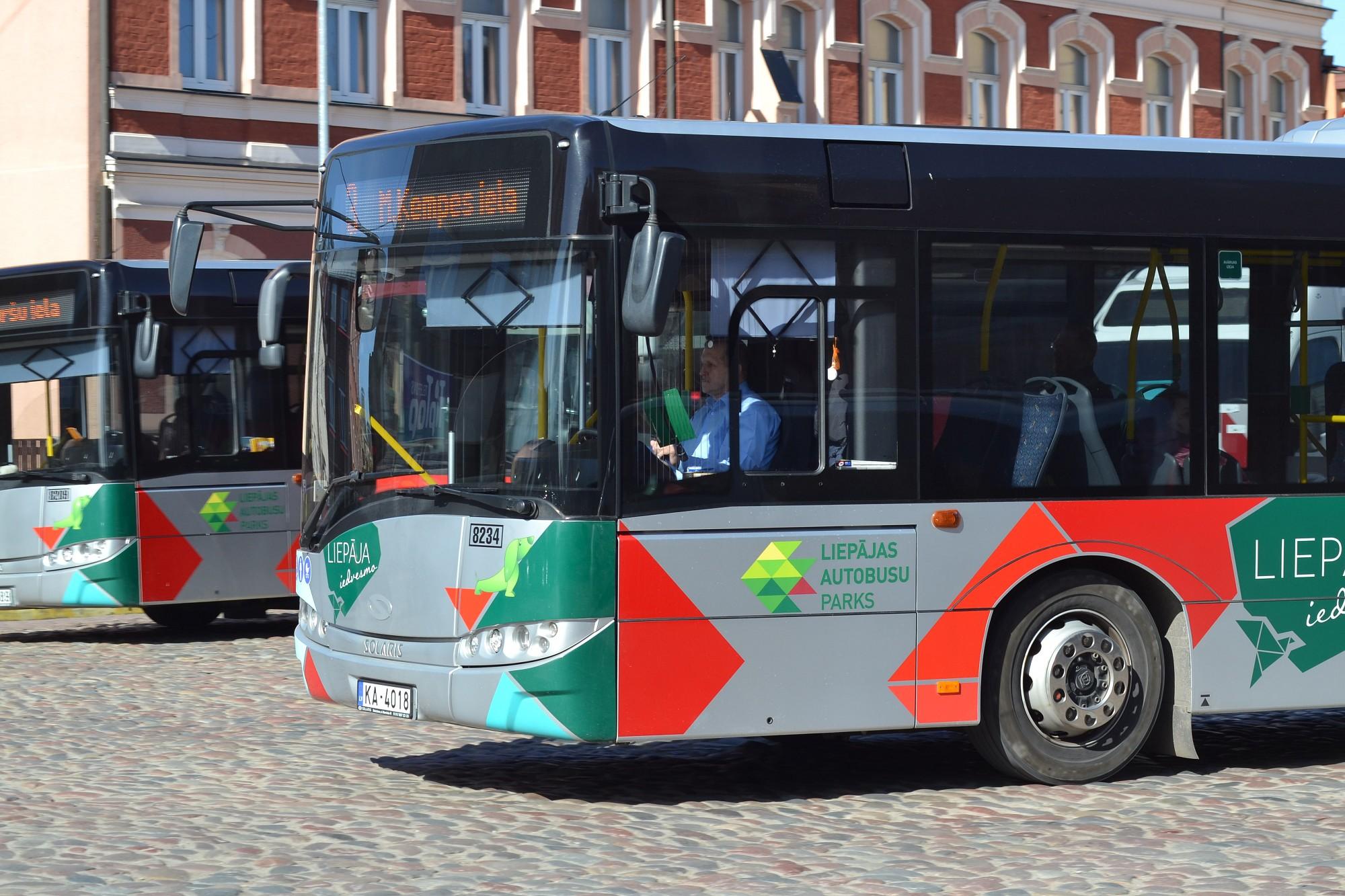 8. maršruta autobusi sāks kursēt pēc pavasara kustības saraksta