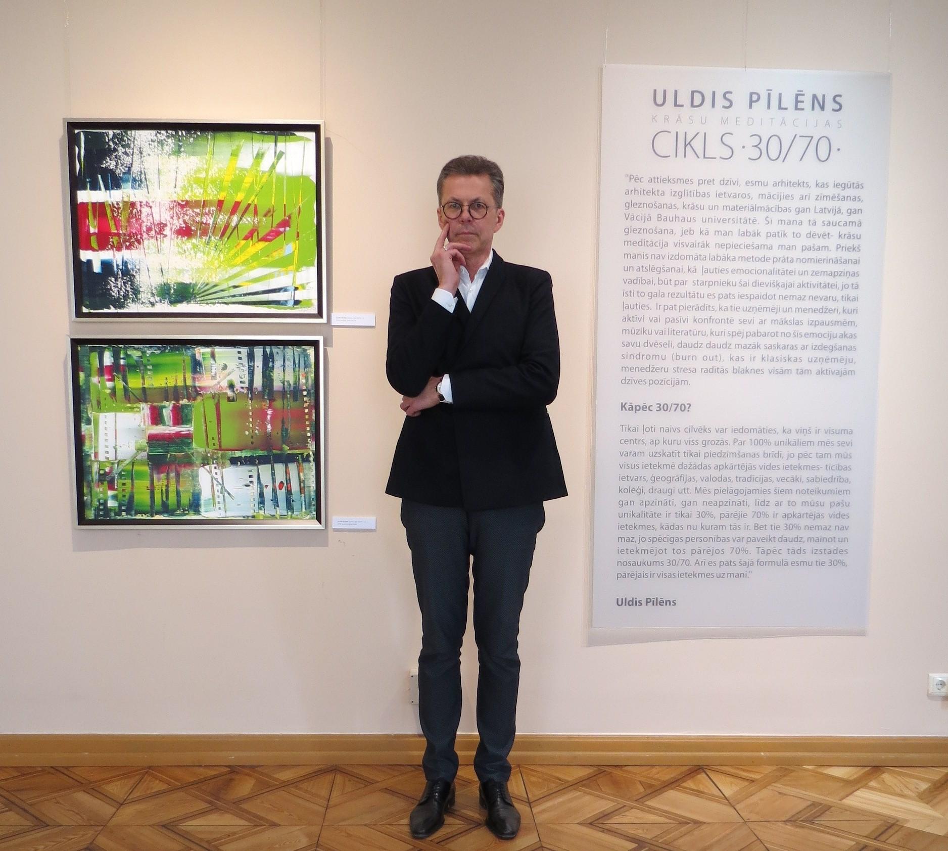 Liepājas muzejs saņem dāvinājumā divus Ulda Pīlēna darbus