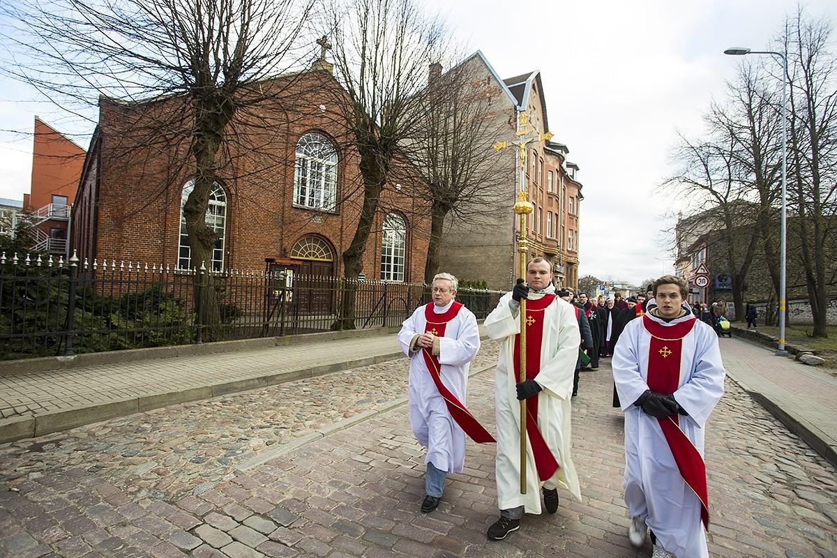 """Notiks tradicionālais ekumeniskais gājiens """"Krusta ceļš"""""""