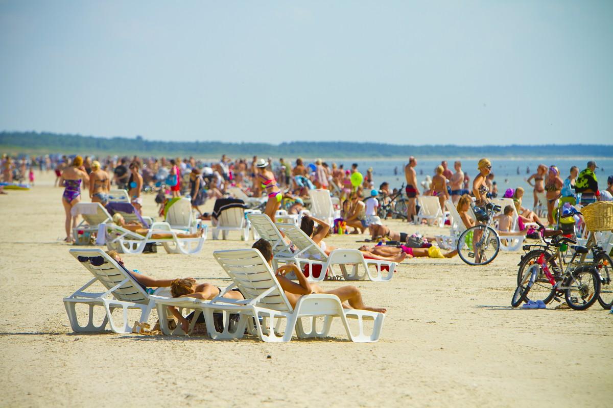 Liepājā sākusies pludmales sezona