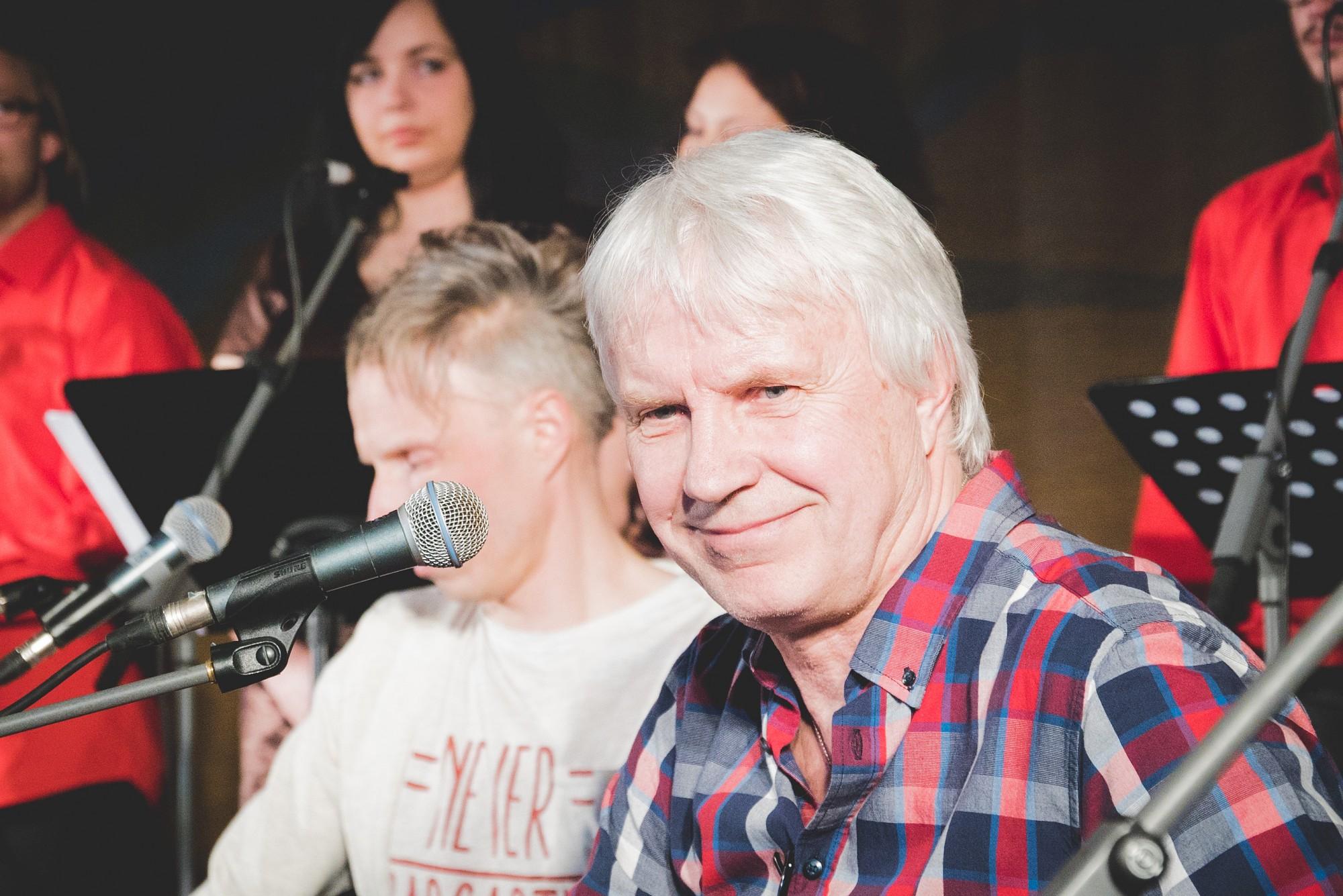 Izskanējis Jura Pavītola dziesmu nošu krājuma prezentācijas koncerts