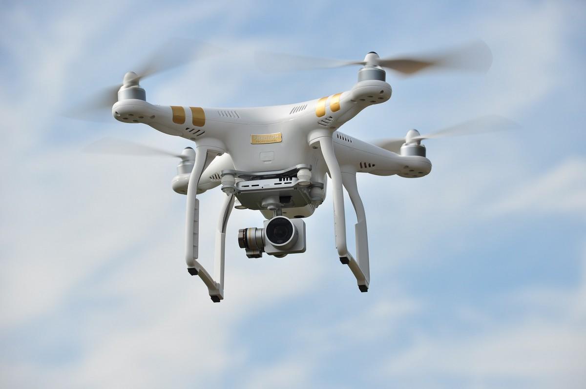 Valsts vides dienesta darbu atvieglos drons