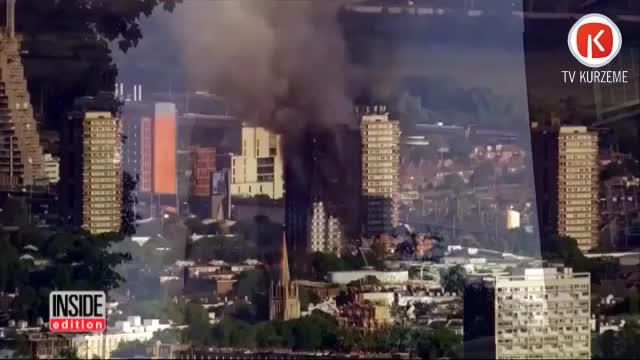 Pēc traģiskā Londonas ugunsgrēka VUGD veiks pārbaudes daudzdzīvokļu dzīvojamās ēkās