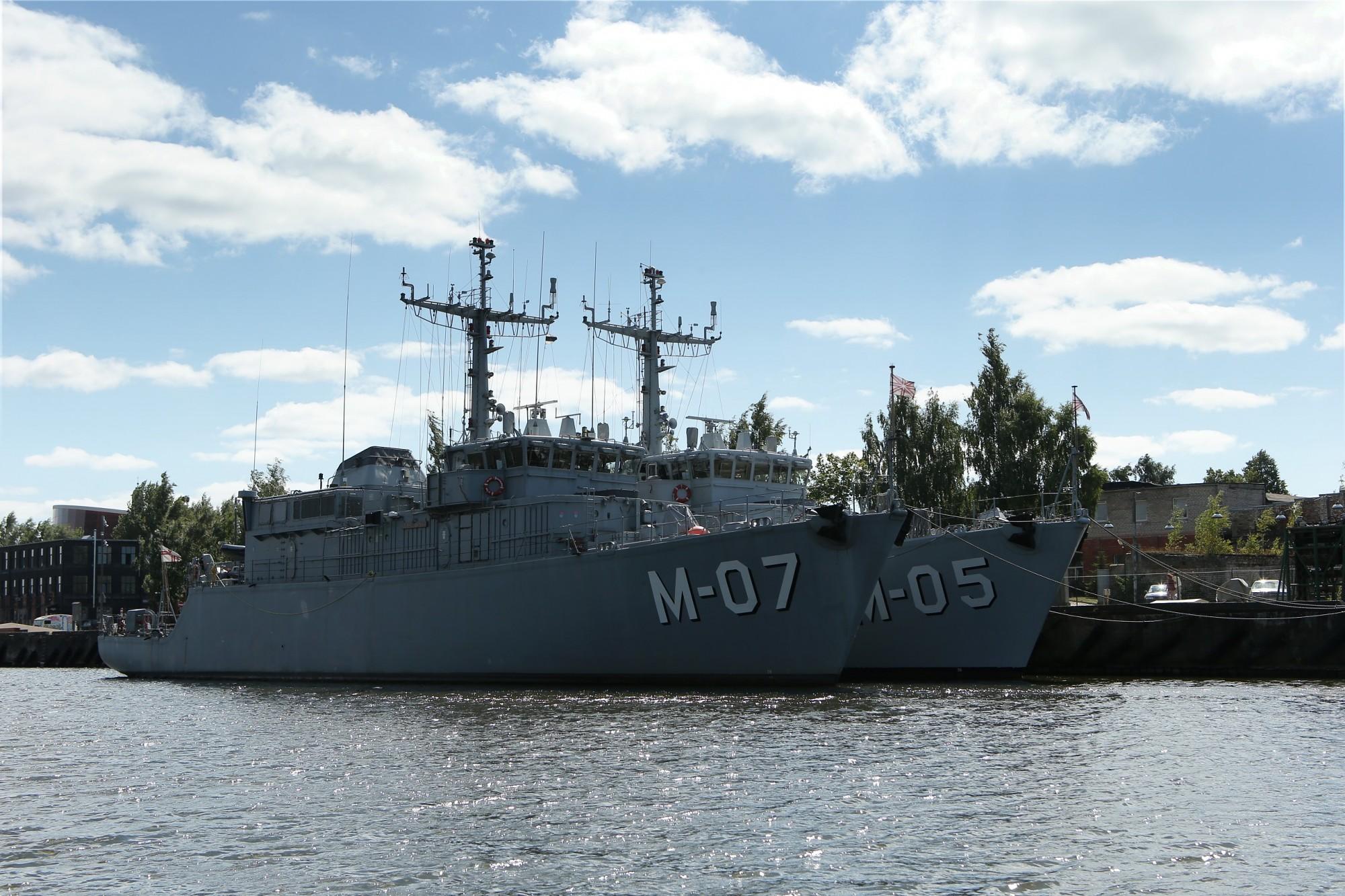 Jūras svētkos būs iespēja apskatīt militāros kuģus
