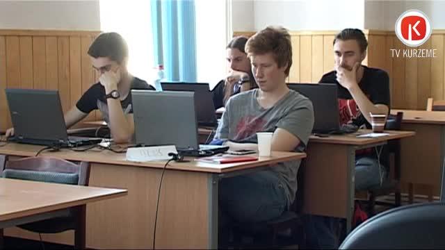 Liepājas Universitātē apgūst robotikas procesu modelēšanu