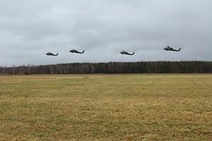 ASV helikopteri veiks zemos lidojumus