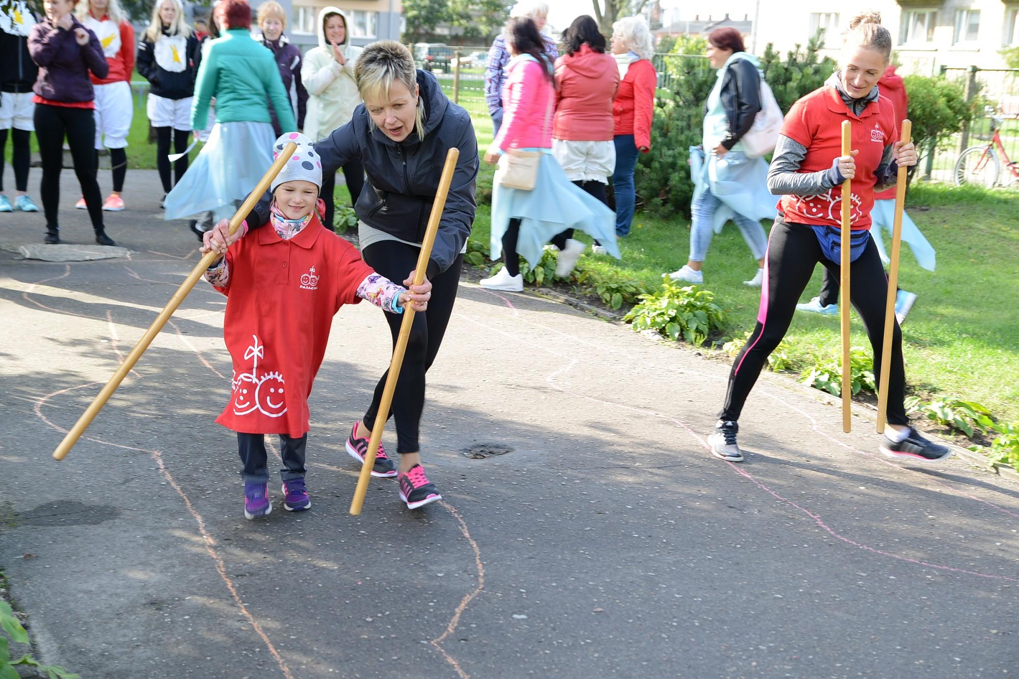 Savi sporta svētki arī bērnudārzu darbiniekiem
