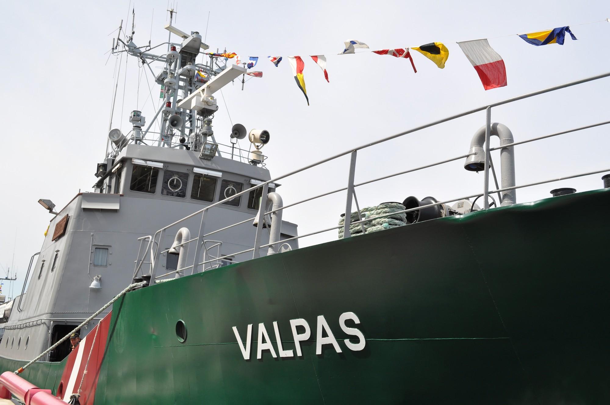 Pirmo reizi dalībai starptautiskajā misijā norīkots robežsardzes kuģis