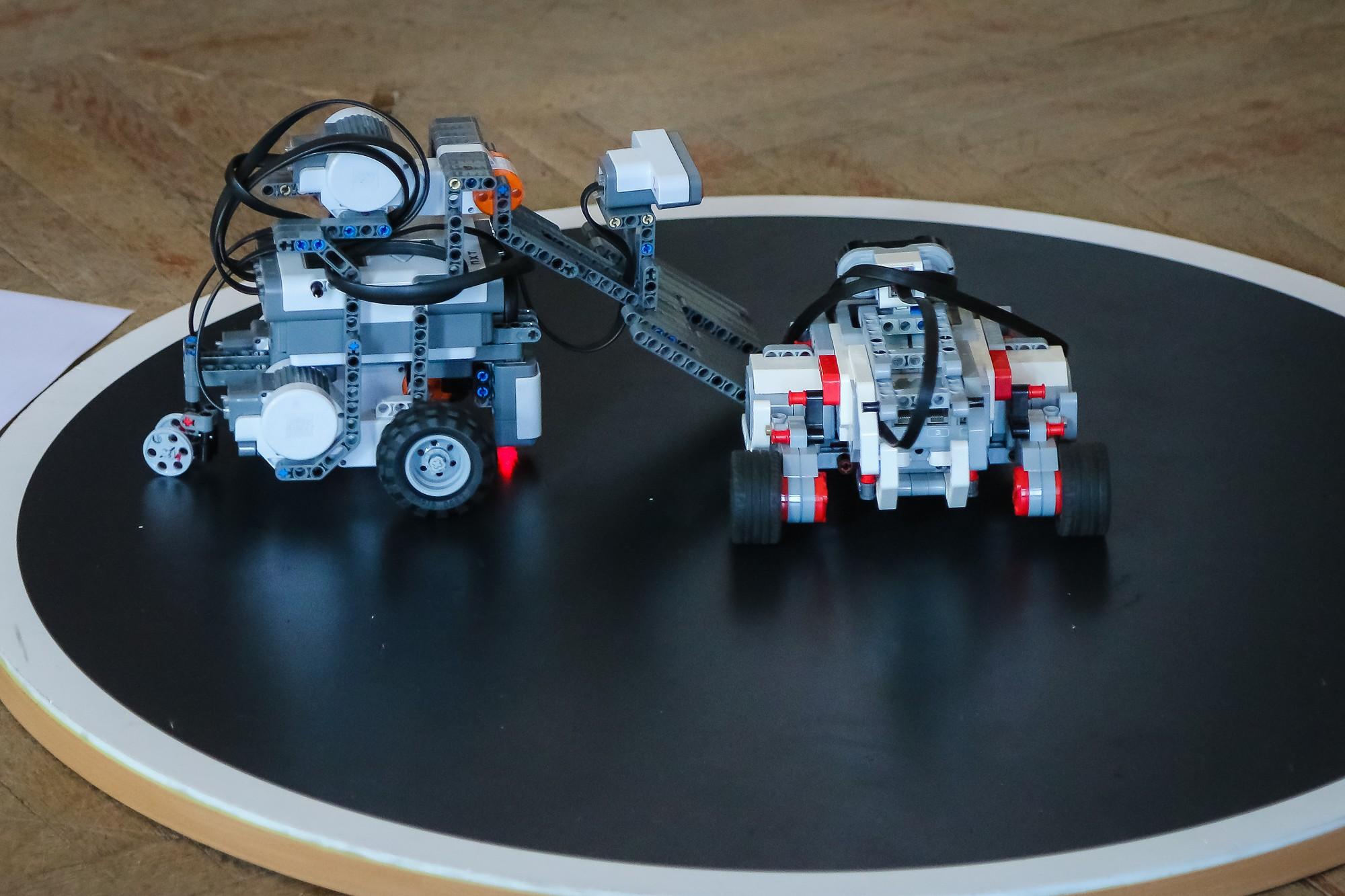 Aicina apgūt robotikas pamatus