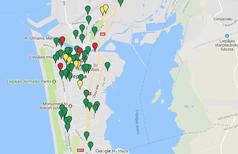 Latvijā nedrošas 39 sabiedriski nozīmīgas ēkas, 4 no tām – Liepājā