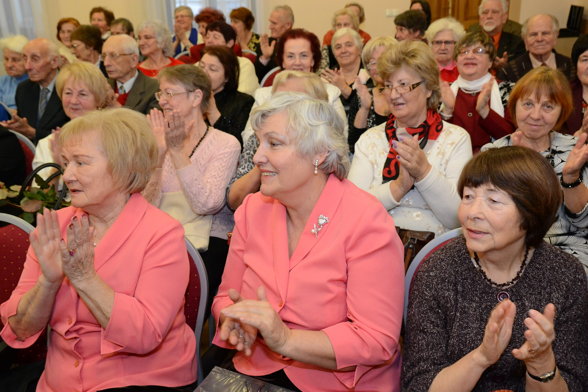 Karostas Pensionāru dienas centrs aicina jaunus dalībniekus