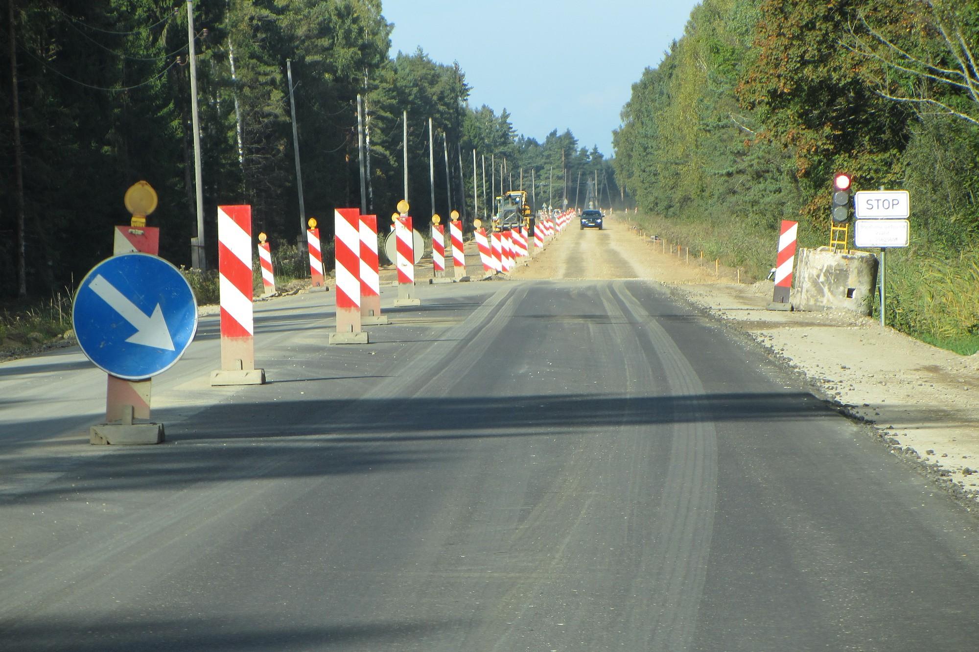Autoceļa A11 Liepāja–Lietuvas robeža rekonstrukcija šogad turpināsies