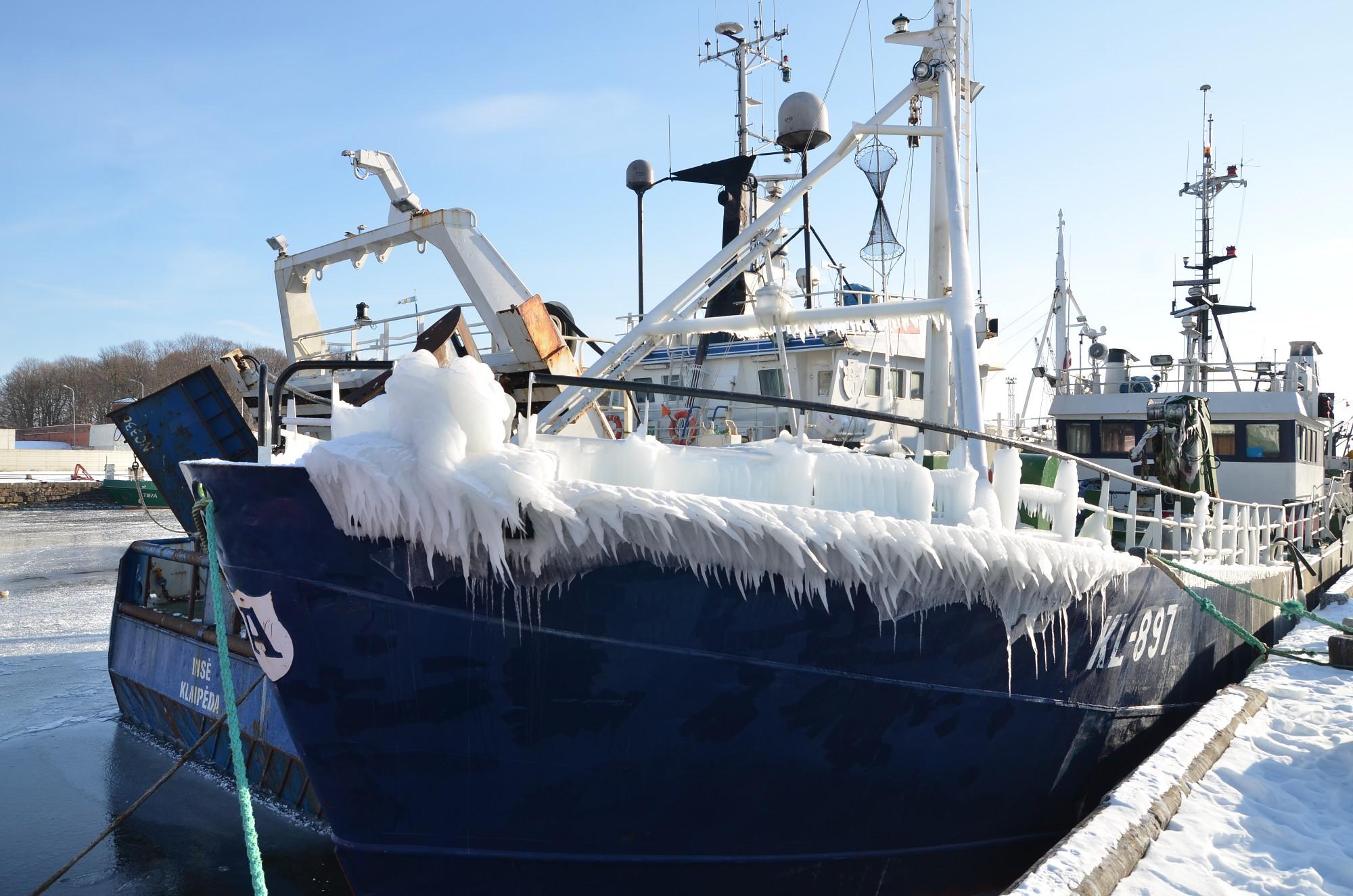 Sals šorīt sasniedzis mīnus 18,6 grādus